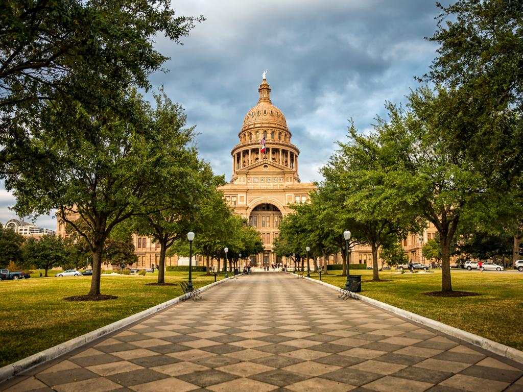 Texas State Capitol building in Austin, Texas