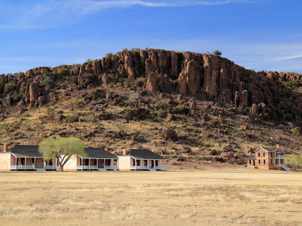 Fort Davis National Historic Site near Alpine Texas