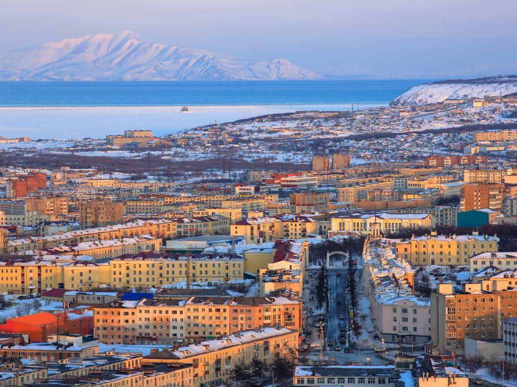 Magadan in Russia's Far East is as far as you can drive on a road trip across Russia.