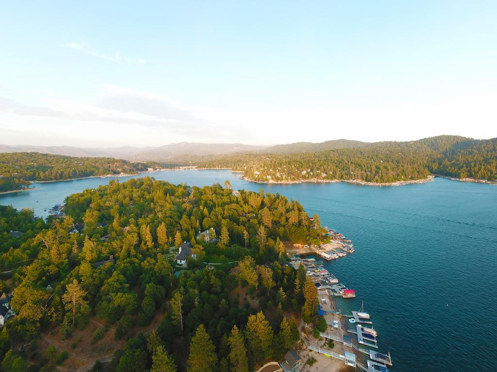 Lake Arrowhead is a perfect destination for a day trip from Los Angeles.