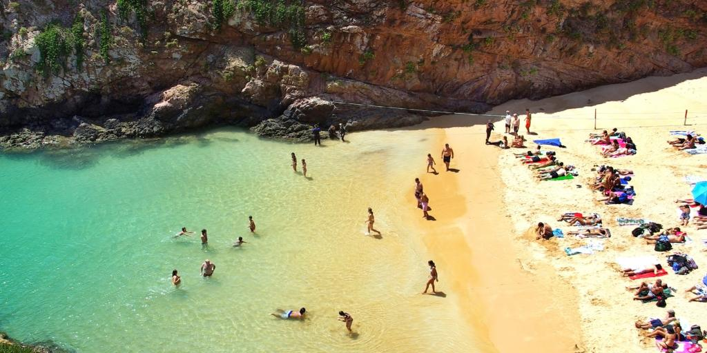 Beach in Berlengas, Portugal