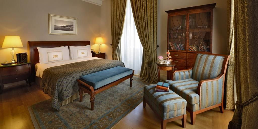 Bedroom Pera Palace Hotel, Istanbul