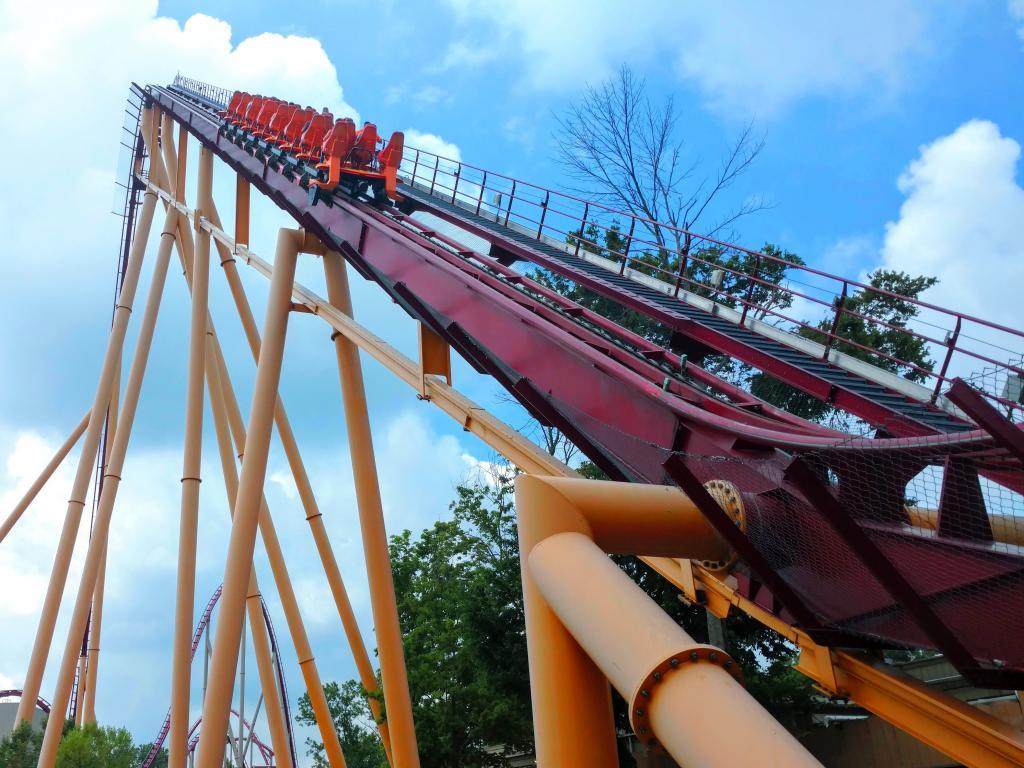 Kings Island State Park is a great amusement park a short drive outside of Cincinnati, Ohio