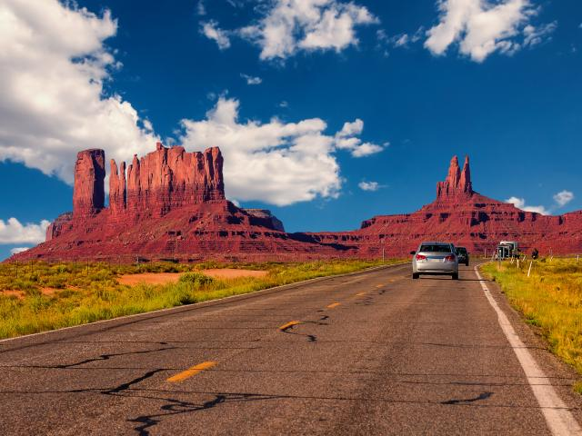 How long does it take to drive across the USA - route through Utah