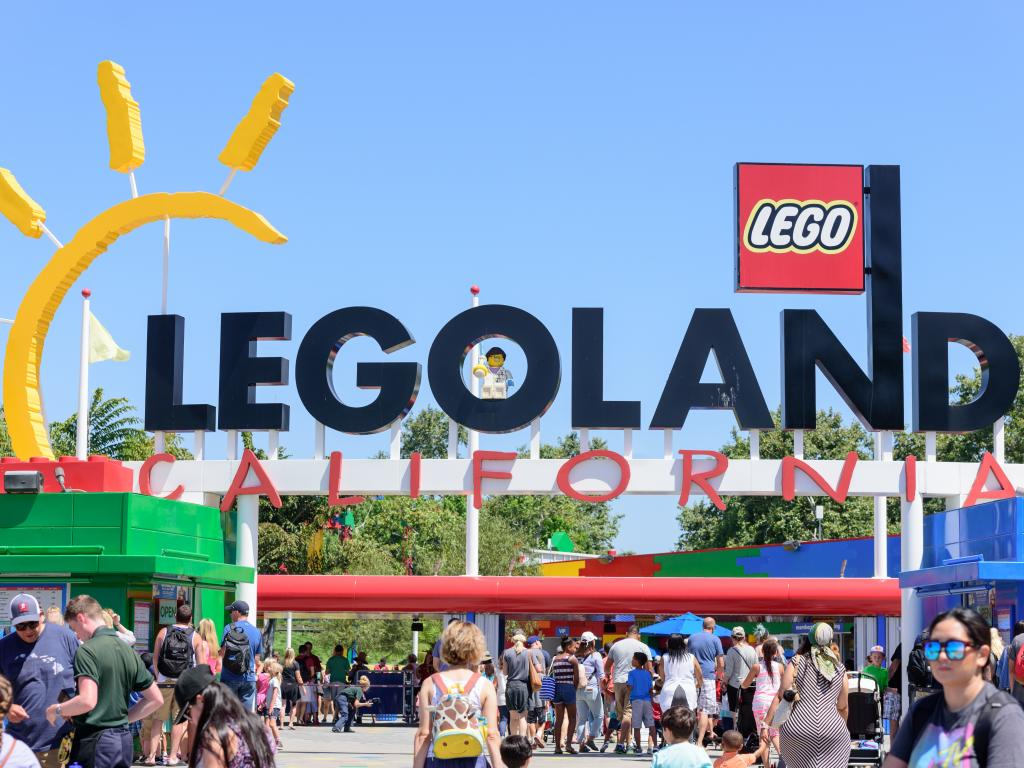 Entrance to Legoland in Carlsbad, California - a short drive from Los Angeles
