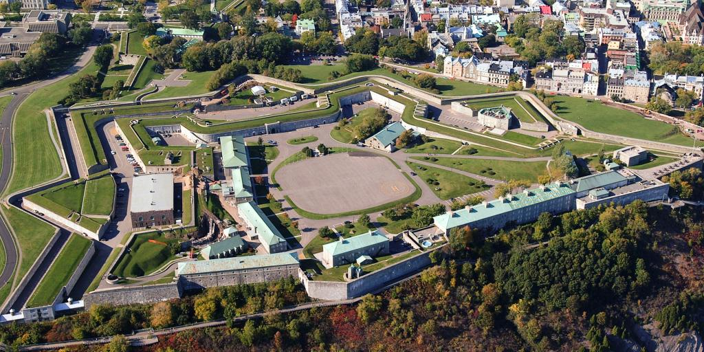 La Citadelle de Québec from above