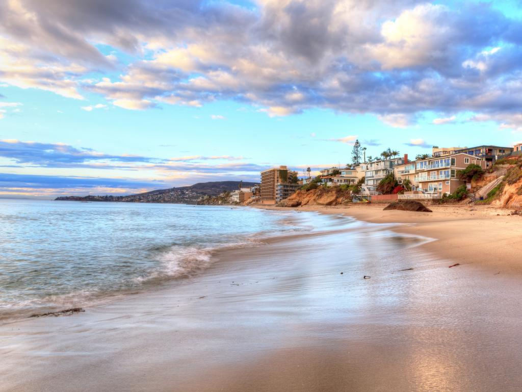 Pearl Street Beach in the afternoon, one of a number of amazing Laguna Beach locations in California