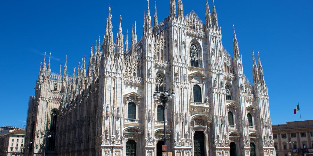 Milan Cathedral from Piazza del Duomo