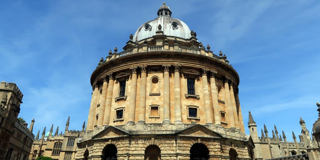 The Radcliffe Camera in Radcliffe Square, Oxford