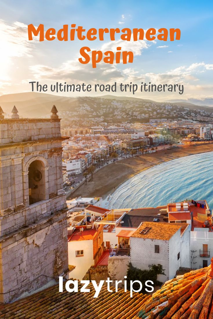 A perfect route for a 2 week Spain road trip from Barcelona to Andalucia - the full itinerary, travel tips and route map for the ultimate Spanish road trip!