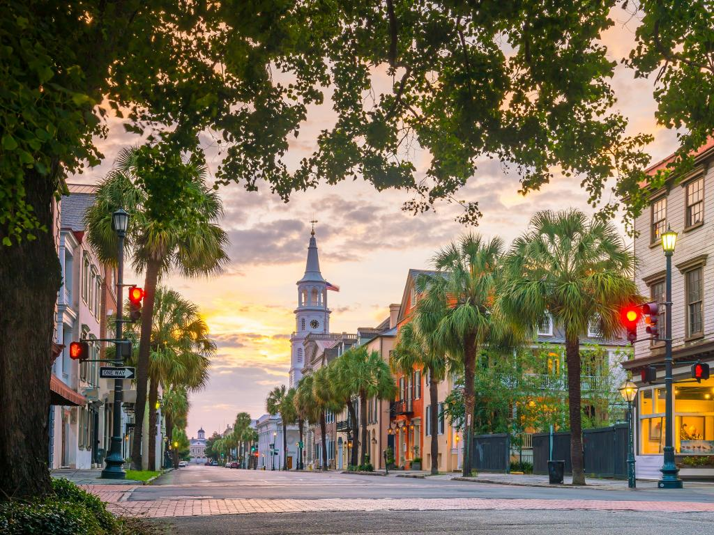 Charleston is a timeless classic with a stunning historic downtown.
