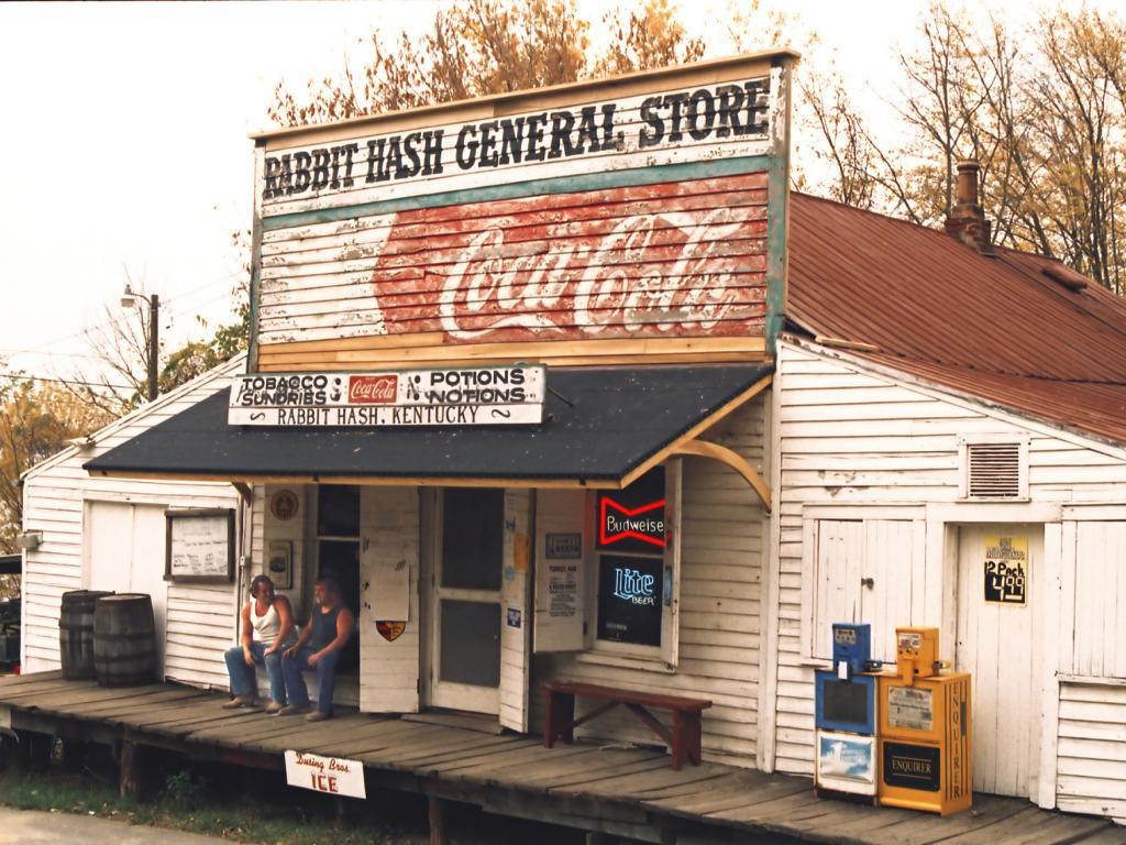 Rabbit Hash general store in the town of Rabbit Hash, Kentucky