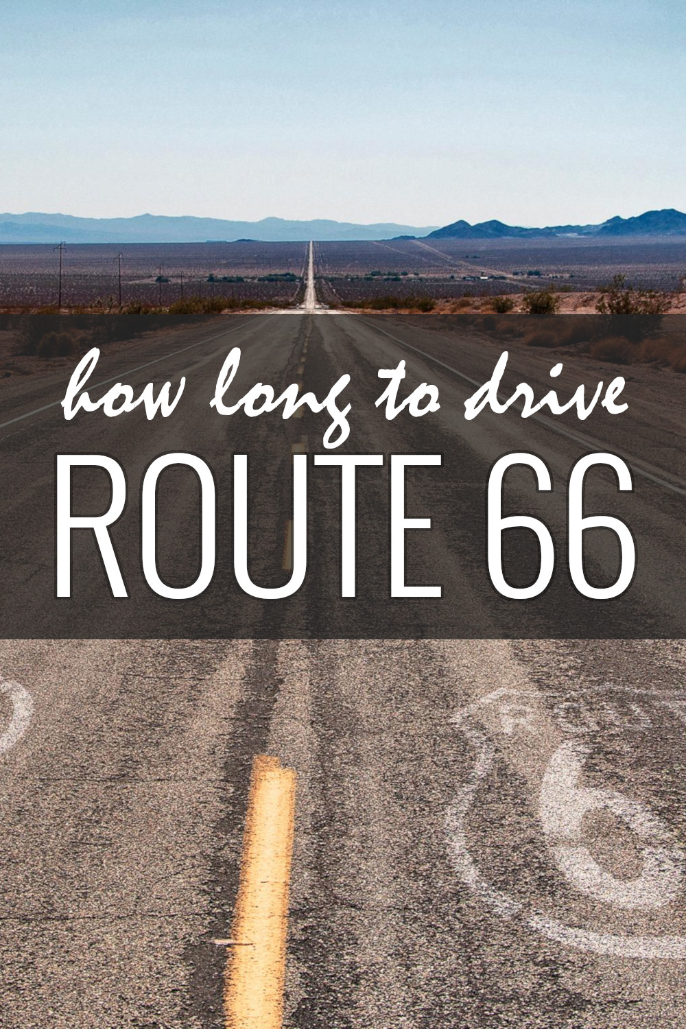How long does it take to drive Route 66 from Chicago to Santa Monica