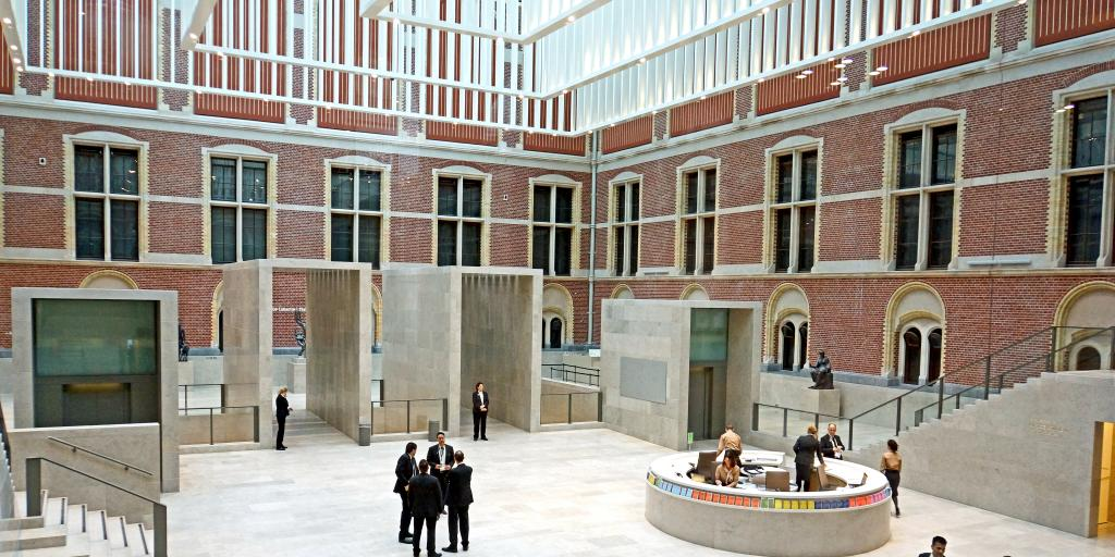 Main atrium of the Rijksmuseum, Amsterdam