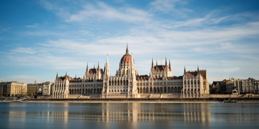 Parliament Building across the Danube, Budapest