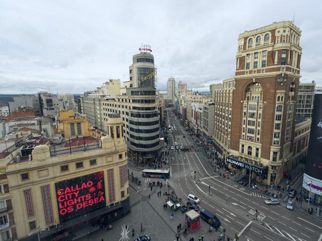 Gran Vía, Madrid, Spain