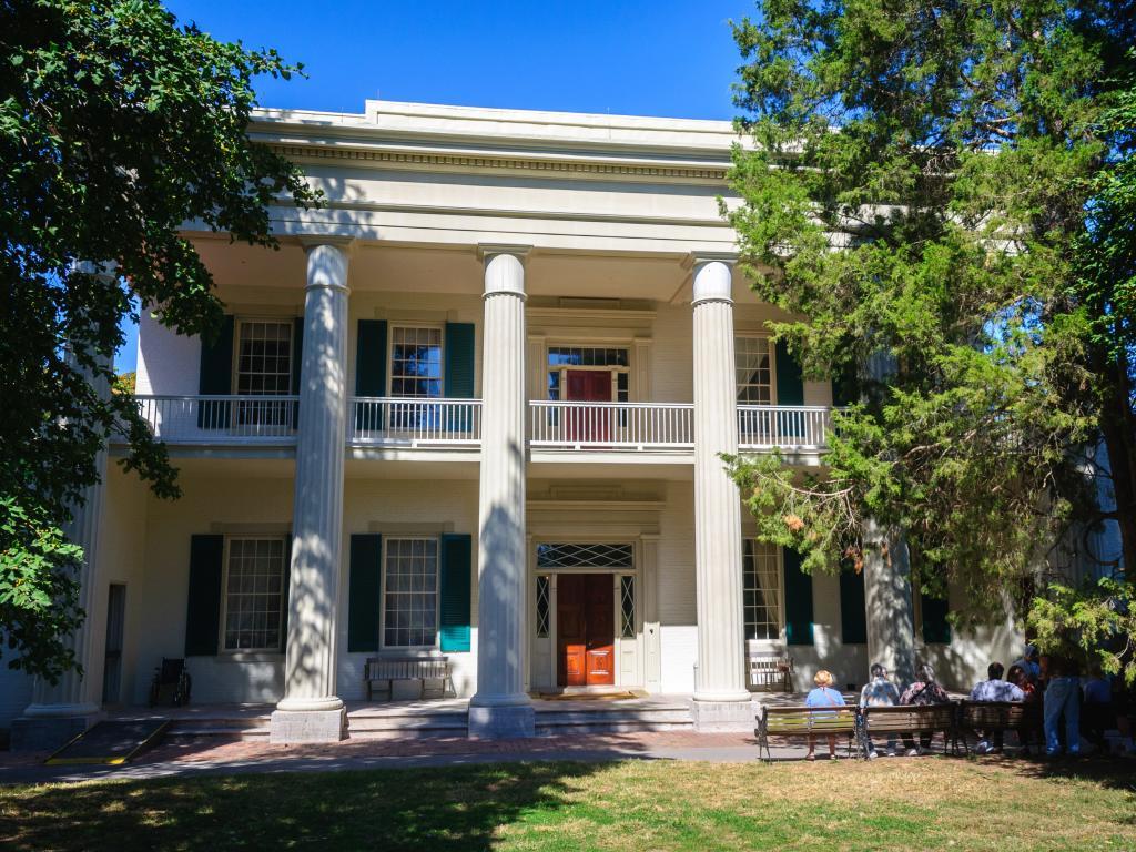 Andrew Jackson's Hermitage building in Nashville