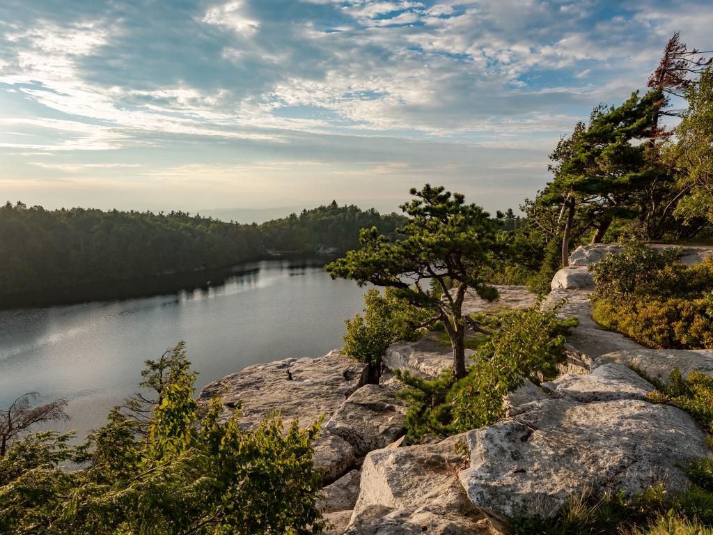 Lake Minnewaska in the Minnewaska State Park, New York