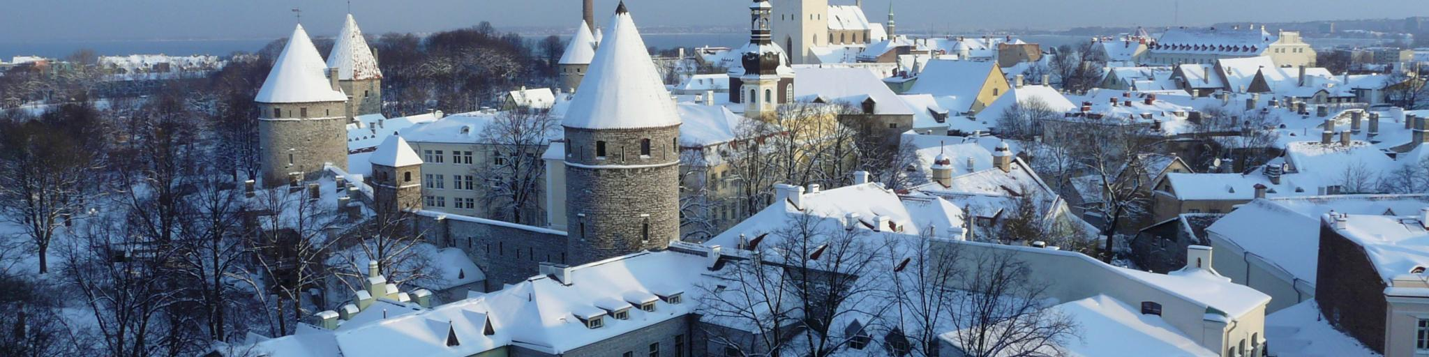 Tallinn Old Town , Tallinn, Estonia