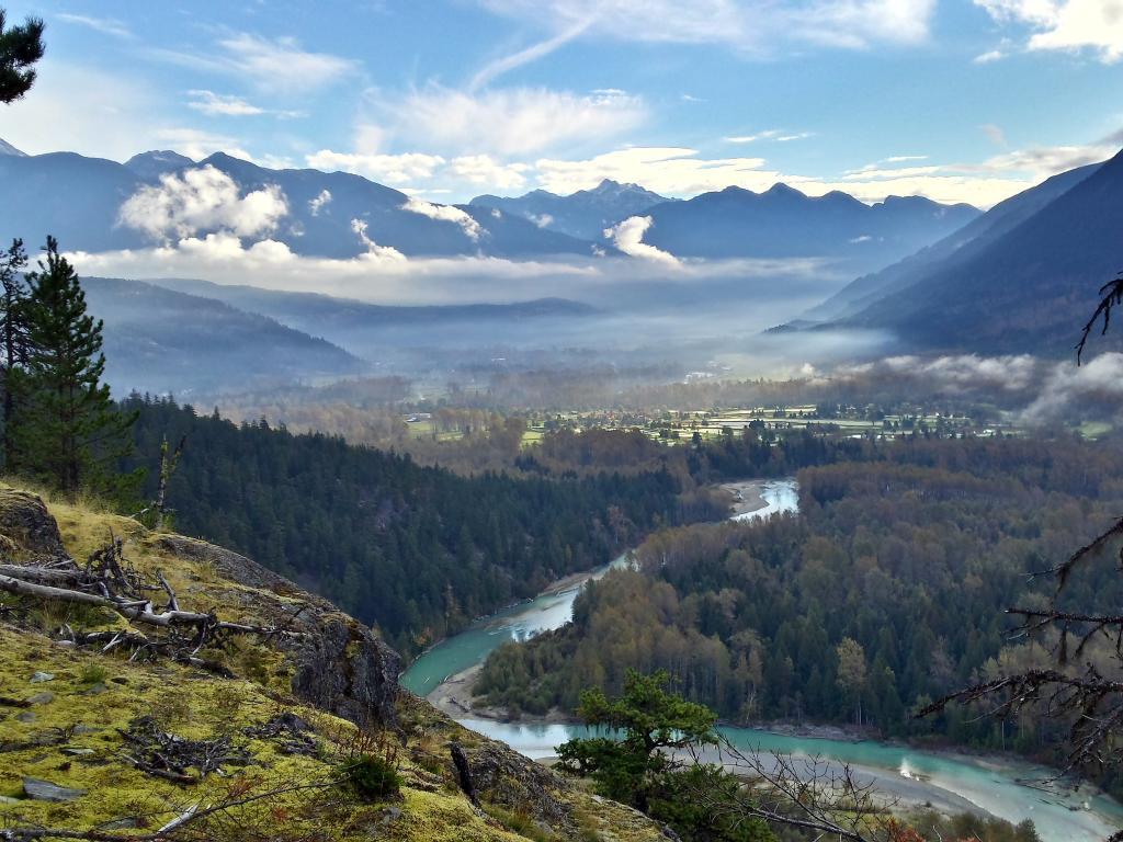 Lumpy's trail, Pemberton, British Columbia, Canada