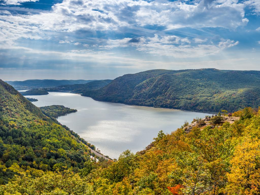 Hudson River and Hudson Highlands from Breakneck Ridge