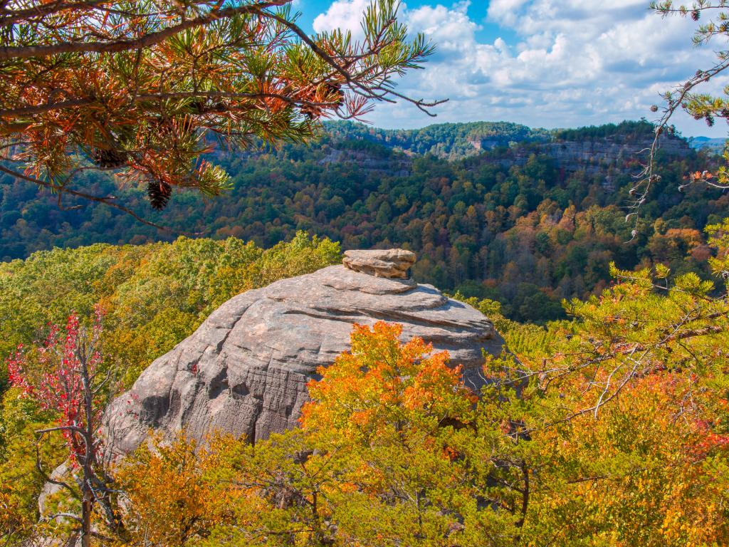 Courthouse Rock at Red River Gorge, Kentucky