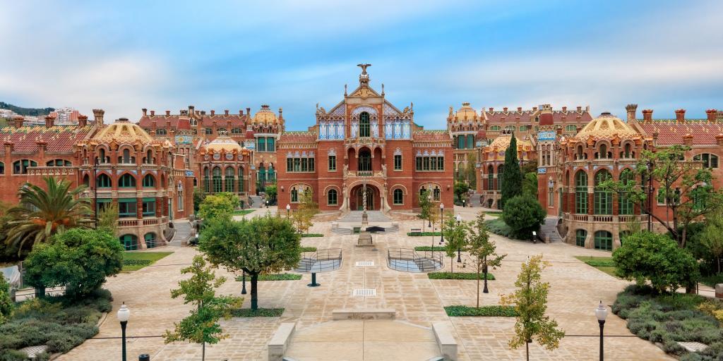 Hospital de la Santa Creu i Sant Pau Art Nouvea building