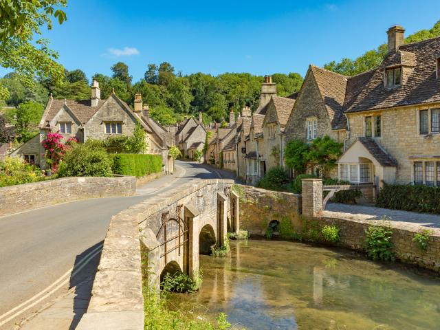 South England road trip - Wiltshire village of Castle Combe