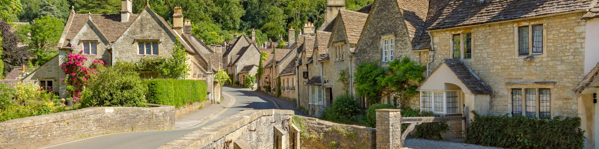 South England road trip - Wiltshire village of Castle Combe