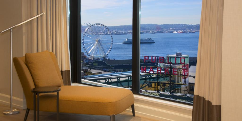 Relax at the Inn at the Market Hotel - a perfect base for road trips from Seattle