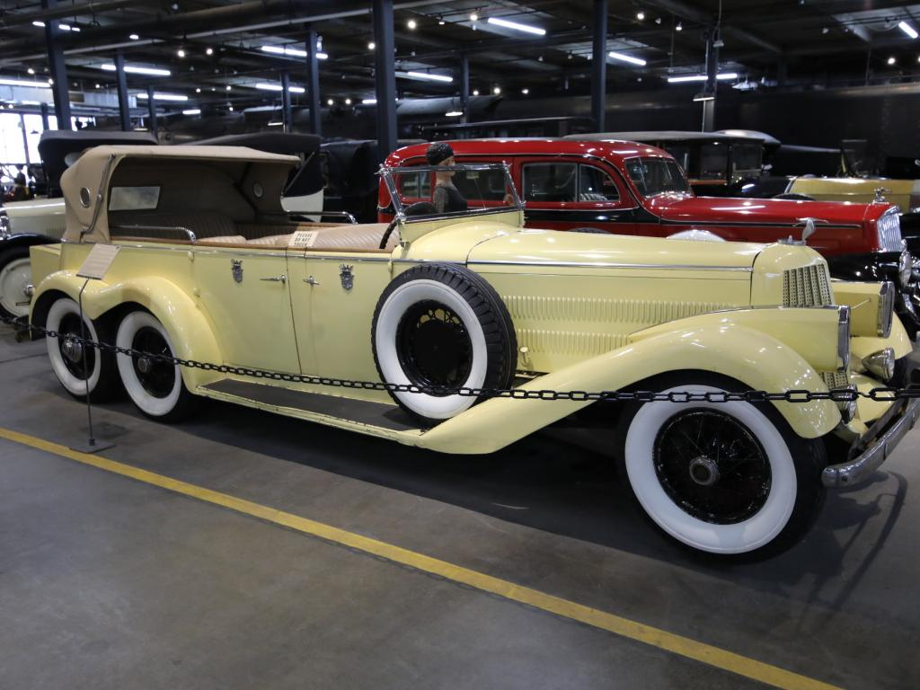 The 1923 Hispano Suiza Victoria Town Car Model H6A at the Denver Forney Transportation Museum