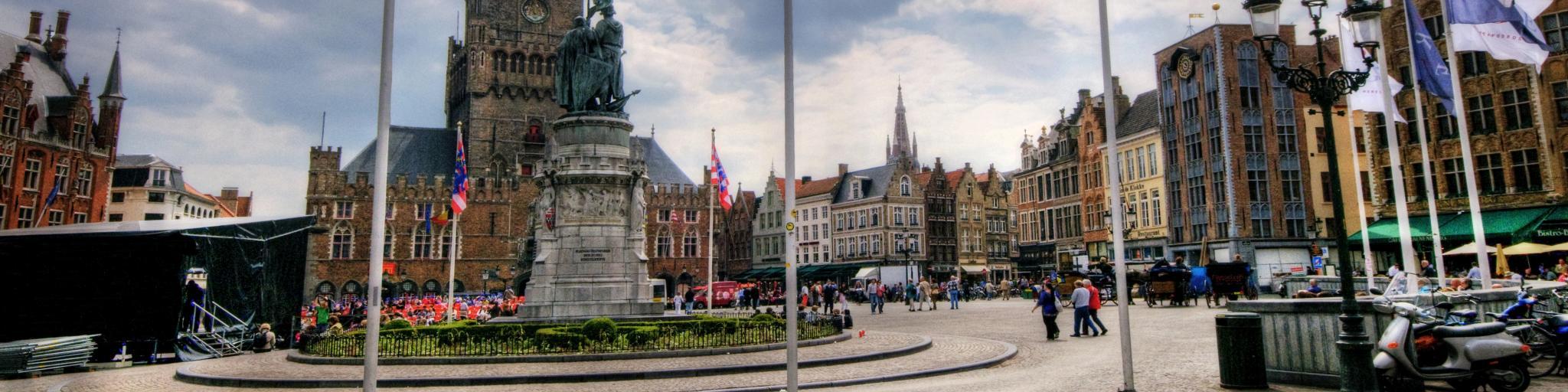 Belfry (Belfort) , Bruges, Belgium