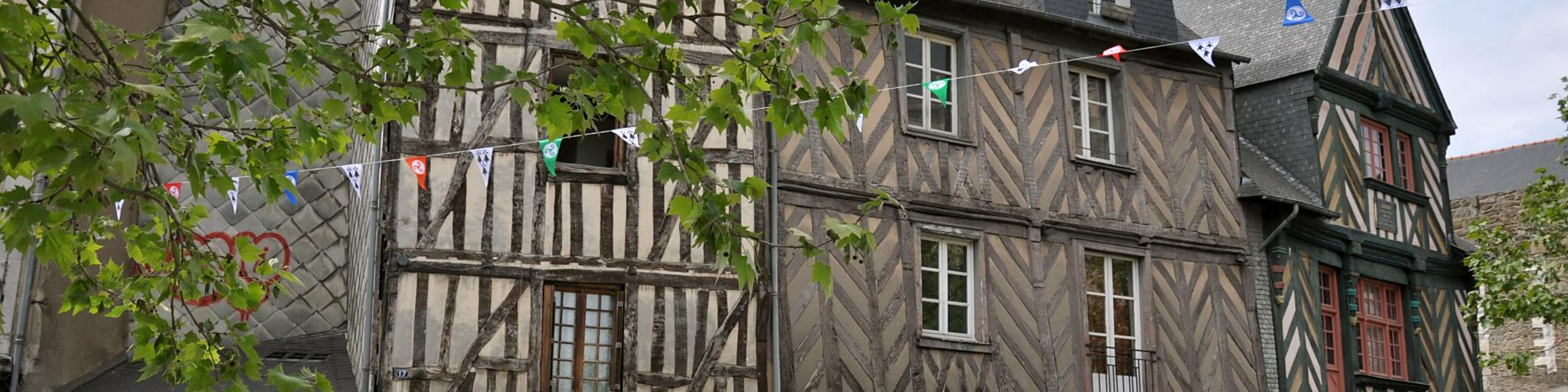 timbered houses in rennes france 2