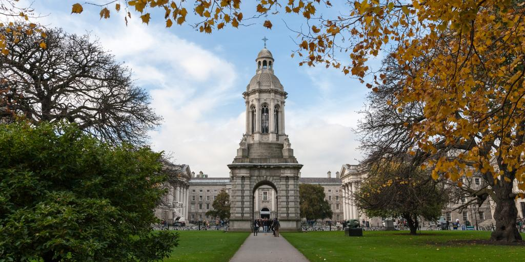 The Campanile of Trinity College, Dublin