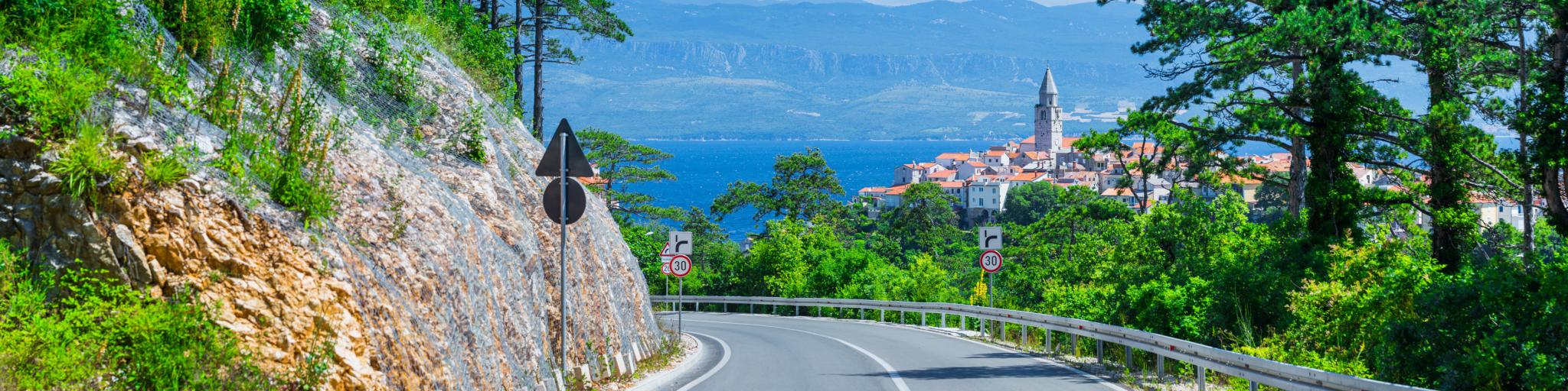 Driving in Croatia -full guide and top tips for your holiday