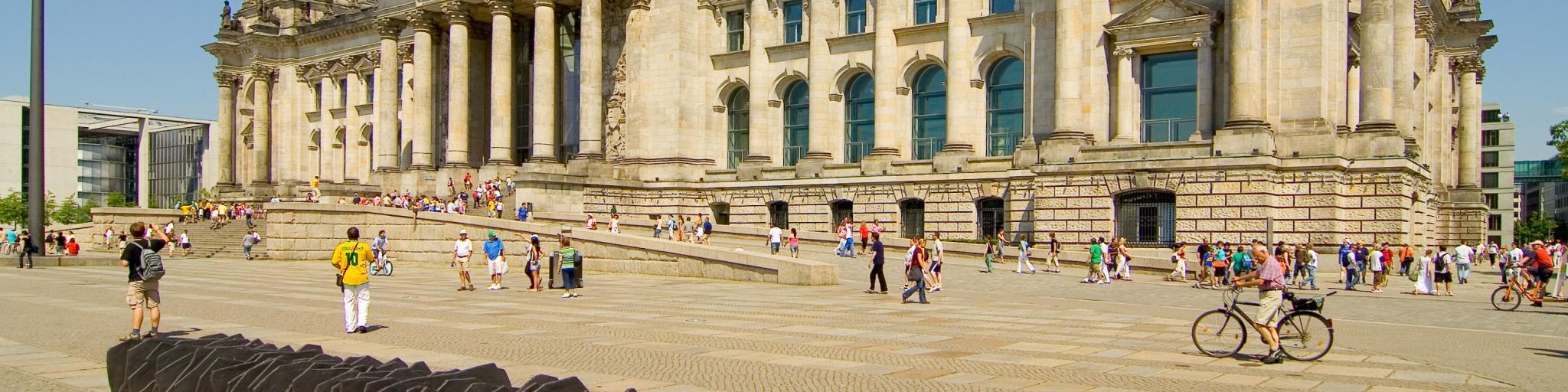 Berlin Reichstag of Berlin Germany