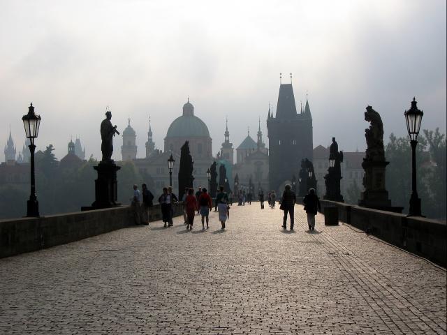 Charles Bridge (Karluv Most), Prague, Czech Republic