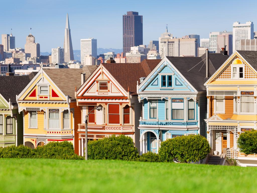 Painted Ladies buildings in San Francisco