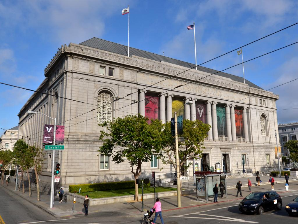 Asian Art Museum of San Francisco building, California