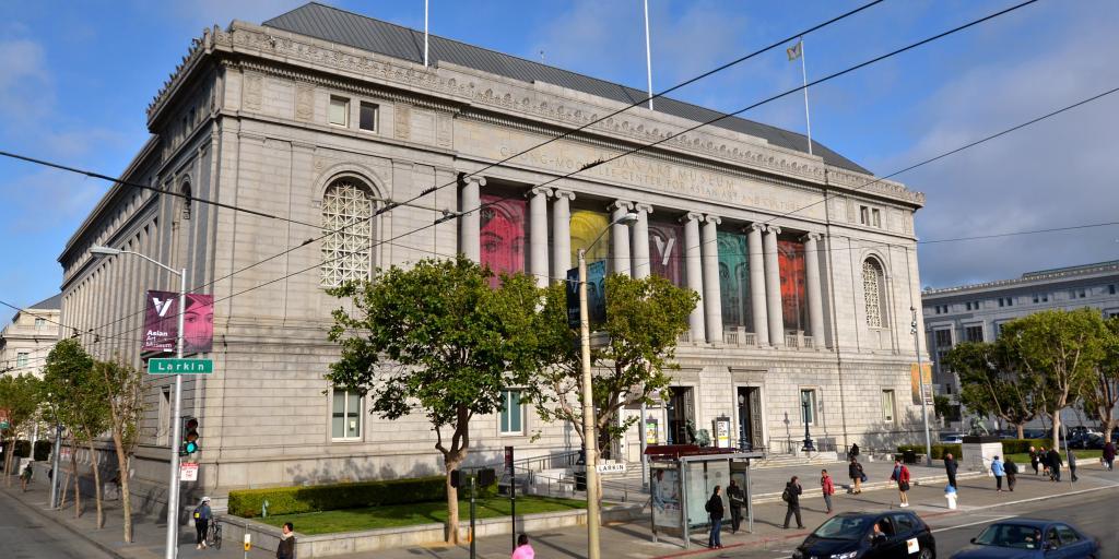 Asian Art Museum of San Francisco building, California