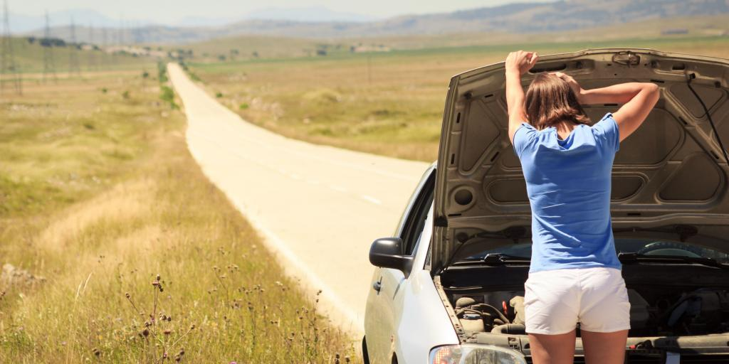 Being able to fix your car if you break down is very important on long road trips.