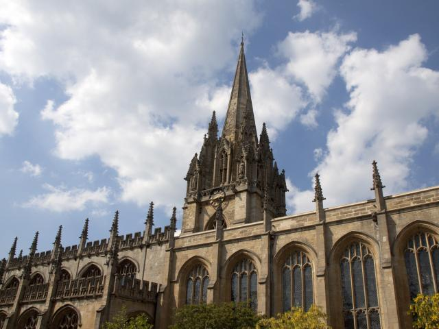 The University Church of St Mary the Virgin, Oxford, England
