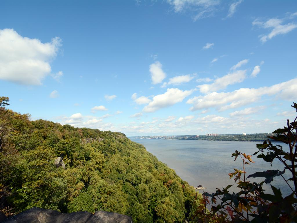 Scenic Overlook In the New Jersey Palisades