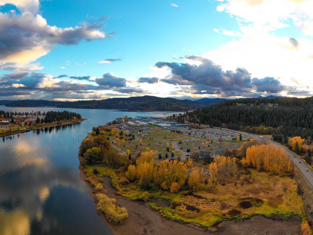 Lake Coeur d'Alene Panorama, Idaho