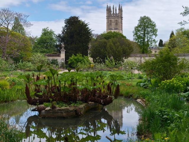 Oxford Botanical Garden, Oxford, England
