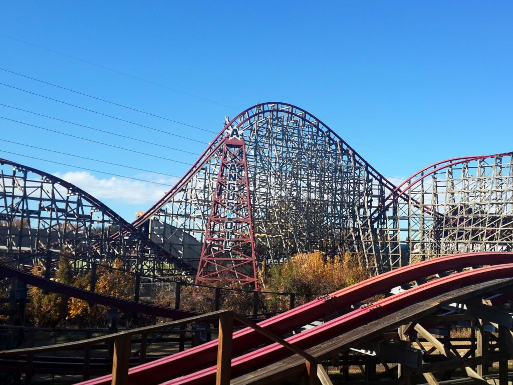 Six Flags Over Texas theme park in Dallas, Texas