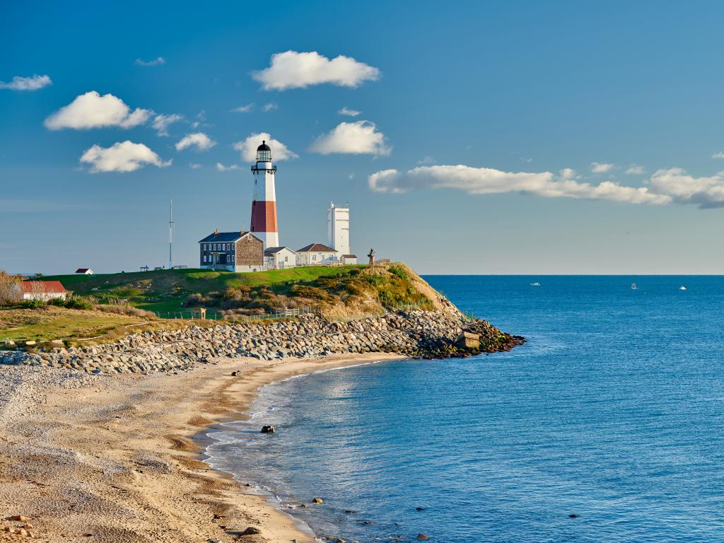 Montauk Lighthouse right at the end of Long Island, New York
