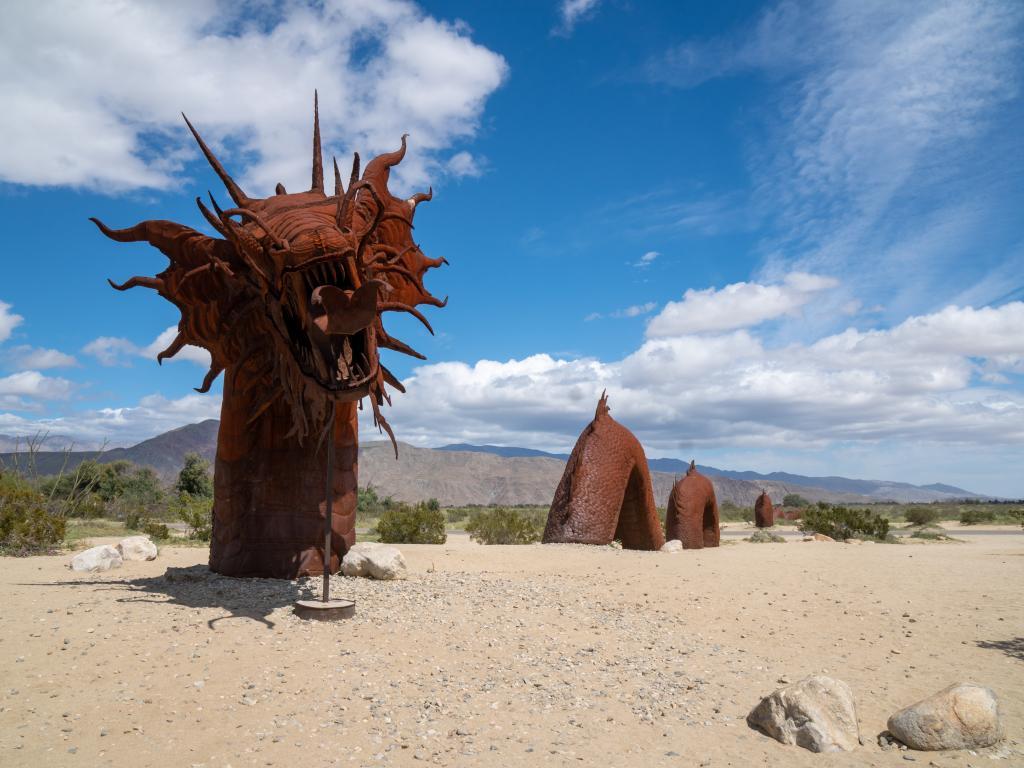Borrego Springs sculptures, California