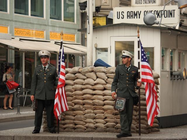 Checkpoint Charlie, Berlin, Germany