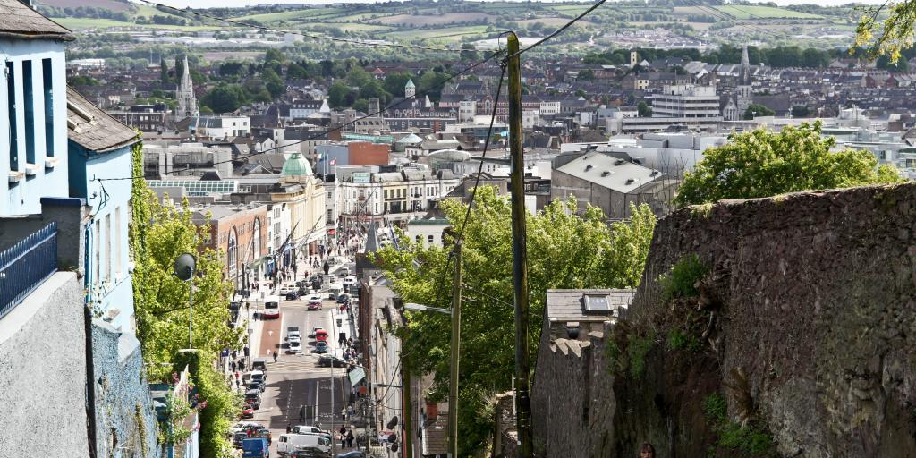 View from St Patrick's Hill, Cork